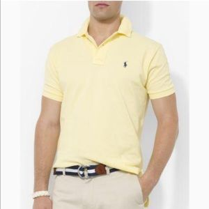 NWT Polo by Ralph Lauren Wicket Yellow